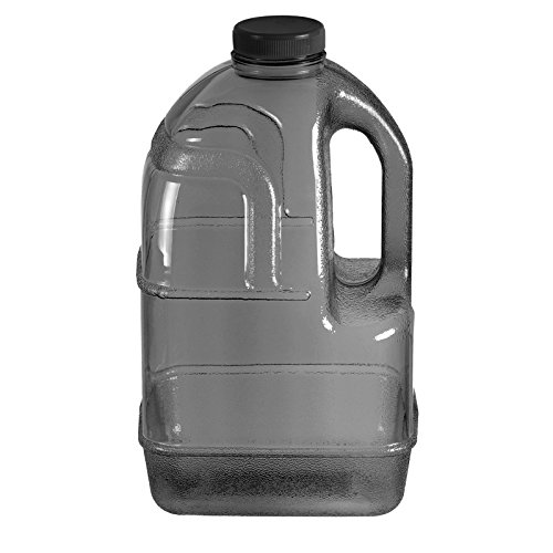 1 gallon bpa free reusable plastic drinking water big mouth dairy bottle jug container with. Black Bedroom Furniture Sets. Home Design Ideas