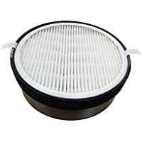 Sollievo True Hepa Air Purifier Filter Replacement - True HEPA and Activated Charcoal Filter for Sollievo Model SV - 1617. Fits model VK - 6011.
