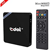 Edal Mini M8S II Smart Android 6.0 Amlogic S905X Quad Core VP9 UHD 4K 2G / 16G TV BOX