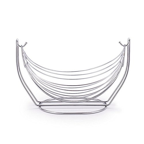 Hosaire Fruit Basket Wire Creative Fruit Bow, Stainless Steel Fruit Stand, Exquisite And Durable by Hosaire