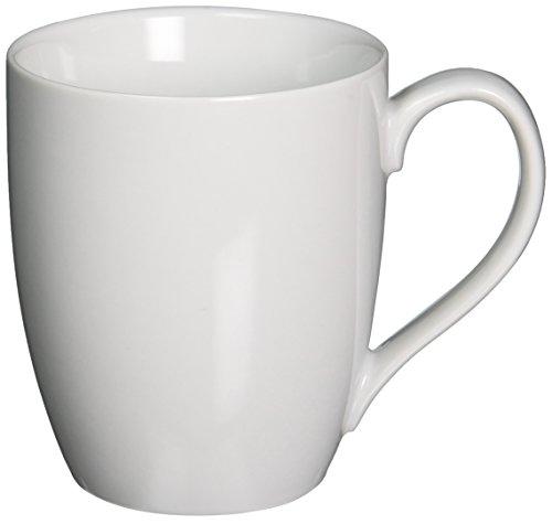 Bia Cordon Bleu Inc Bia Cordon Bleu Inc 903109 16 Oz White Porcelain Bistro Mug, -