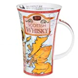 Dunoon Fine Bone China Glencoe Shaped Mug - Scottish Whisky by Dunoon