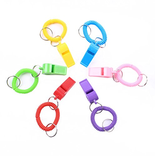 plastic whistle pack - 8