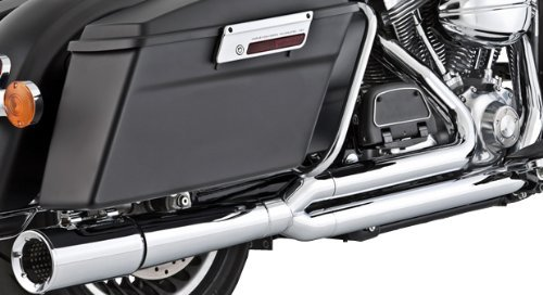 Vance & Hines Pro Pipe Exhaust Full System Chrome for Harley FL - Pipe Pro Hines