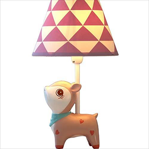 DDHZTA Lámpara de Mesa Regulable LED Dormitorio lámpara de Noche habitación de los niños Lindo Princesa lámpara,45 * 26CM