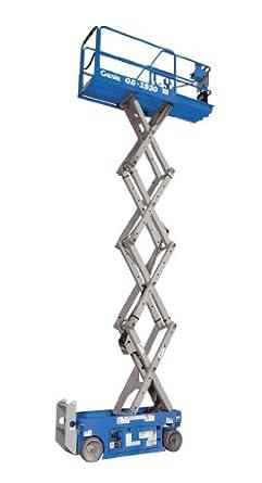Genie GS-1930 Self-Propelled Electric Scissor Lift, 500 lbs Platform on