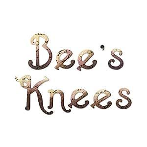 Sizzix Sizzlits Alphabet Set 9 Dies - Bee's Knees