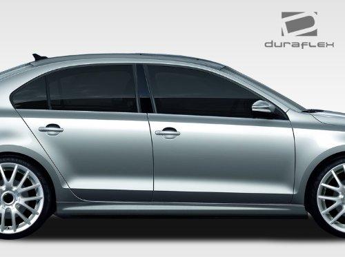 Duraflex ED-LZH-809 R Look Side Skirts Rocker Panels - 2 Piece Body Kit - Fits Volkswagen Jetta 2011-2014