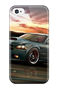 iphone covers 4/4s Scratch-proof Protection Case Cover For Iphone/ Hot Tesla Roadster Phone Case