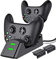 Controller Charger for Xbox one, Controller Charging Station Compatible with Xbox One/One X/One S/One Elite, Dual...