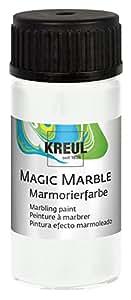 "KREUL C.KREUL Marmorierfarbe ""Magic Marble"", weiß, 20 ml"