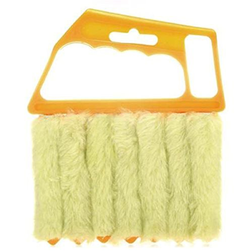 Window Blind Brush Cleaner Mini Hand Held Cleaning Brushes Duster for Ceiling Fan - Shade Fan