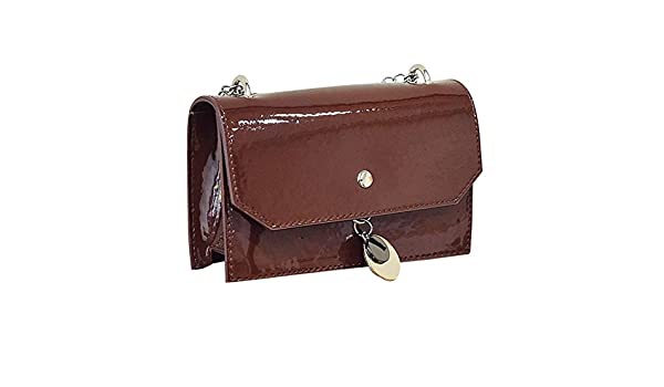 Amazon.com: Fashion Women Solid Color Crossbody Bag Messenger Bag Shoulder Bag womens handbags totes shoulder bags bolsos mujer#75 Color Brown Mini(Max ...