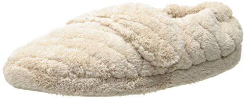 ACORN Womens Spa Wrap Slipper Taupe