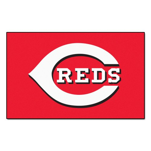 - FANMATS MLB Cincinnati Reds Nylon Face Ultimat Rug