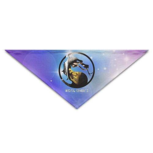[Pet Bandanas - Personalized Mortal Combat-X Black Dragon Pet Bandana Scarf - Triangle Scarf Collar Neckerchief For Dog] (Erron Black Costumes)