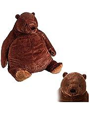 Bear Toy,Giant Simulation Bear Toy Plush Toy, Brown Teddy Bear Stuffed Animal Toys,Djungelskog Bear Toy(60cm)
