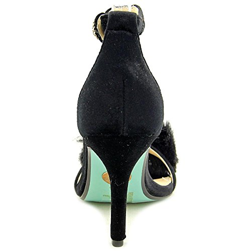 Nolte Betsey Black Johnson Velours Sandales 5PYZxwP