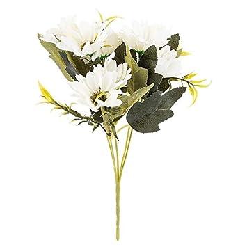 Id/ées avec c/œur Arrangement de Fleurs artificielles Bouquet de Fleurs Bouquet de Fleurs Fleurs /Ø env Plusieurs Fleurs et Couleurs de 28 cm de Haut 3-4 cm