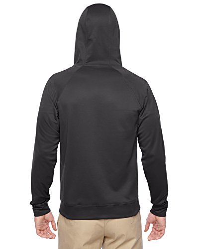 Jerzees Sport Tech Fleece Adult Full-Zip Hood (Stealth) (XL)