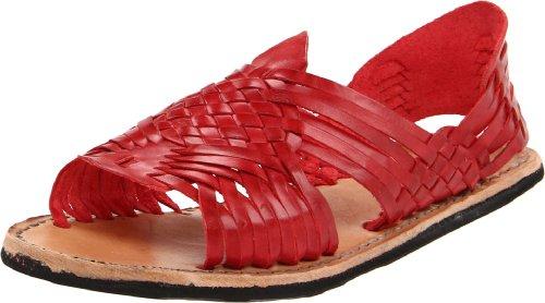 Bed Stu Women's Lauren Slingback Sandal,Red Burnished,11 M US