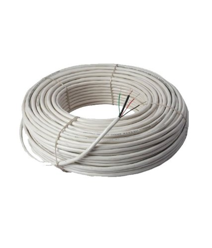 OPTISOFT_30 meter CCTV Camera Wire, 100% Pure Copper 3+1 Cable for CCTV Camera Landline Phones at amazon