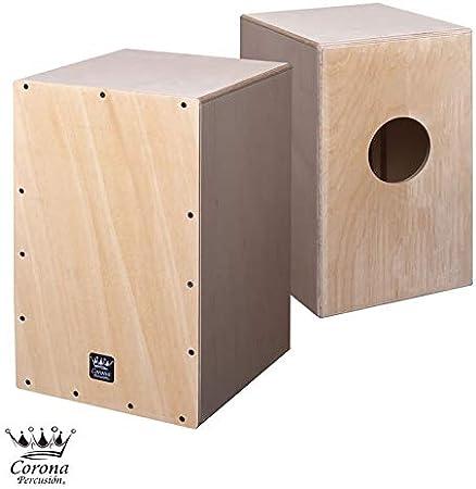 Cajon flamenco - cajón de percusión acabado abedul natural sin barnizar, dibujalo, pintalo, colorealo, barnizalo, da rienda a tu imaginación y haz que tu cajon flamenco sea único.: Amazon.es: Instrumentos musicales