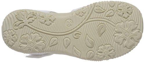 Indigo Schuhe Mädchen 382 225 Offene Sandalen Weiß (White)