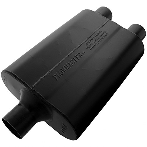 Flowmaster 9424472 Super 44 Muffler - 2.25 Center IN / 2.25  Dual OUT - Aggressive Sound - Flowmaster Super 44 Delta Flow Muffler