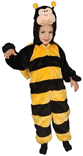 [UHC Little Honey Bee Outfit Toddler Kids Child Fancy Dress Halloween Costume, Toddler Size 6] (Little Honey Bee Girls Costumes)