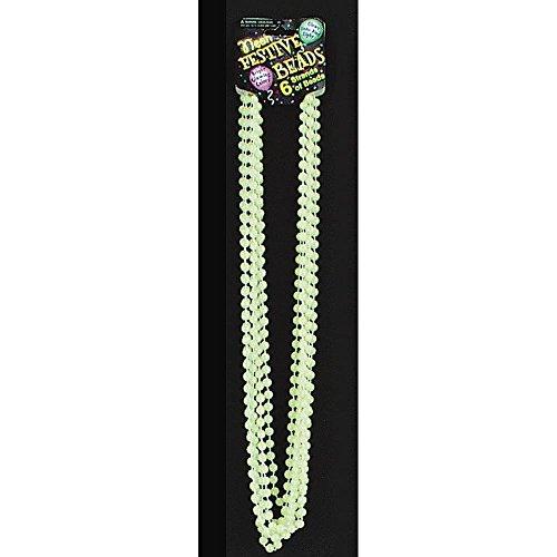 Yellow Mardis Gras Beads - 8