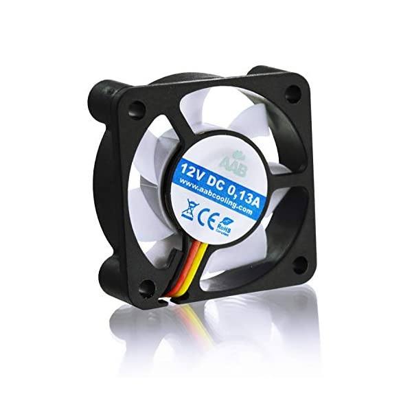 41zUCO5VQ2L AABCOOLING Super Silent Fan 4 - Leise und Efizient 40mm Gehäuselüfter mit 4 Anti-Vibration-Pads - Mini Ventilator…