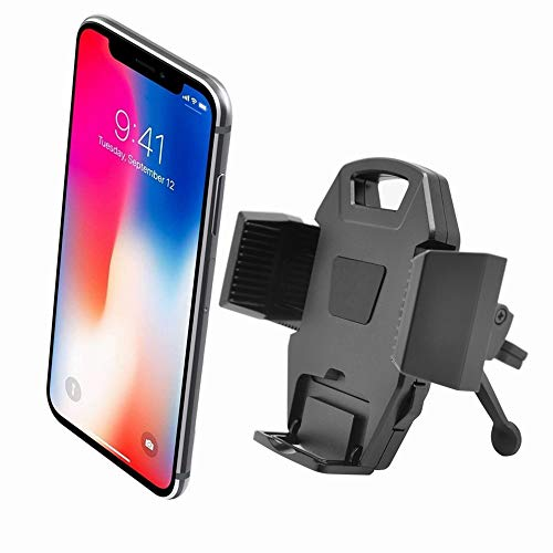 Car Phone Holder Universal Car Air Vent Mount Phone Holder,Easy Charging Car Cradle Button-Press Release,Compatible with iPhone X XS 8 7 6 5 Plus,Galaxy S6 S7 S8 S9 Note8