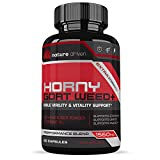 Horny Goat Weed Extract - for Men and Women - 1560mg of Epimedium, Maca & Tribulus - Increases Power, Performance, Stamina, Energy - 60 Capsules - Nature Driven Nature Driven