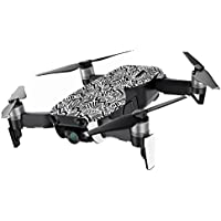 MightySkins Skin for DJI Mavic Air Drone - Abstract Black | Min Coverage Protective, Durable, and Unique Vinyl Decal wrap cover | Easy To Apply, Remove, and Change Styles | Made in the USA