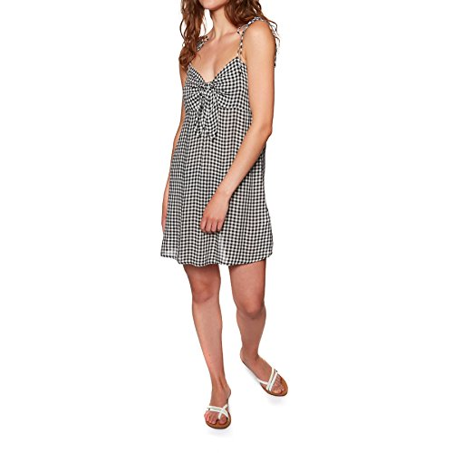 Billabong Douce Robe Pie Noir Blanc