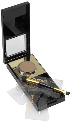 Christian Eyebrow Semi Permanent Make-Up Kit Dark Brown b...