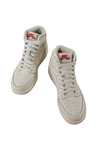 575441-114 GRADE SCHOOL AIR 1 RETRO HIGH OG BG JORDAN SAIL UNIVERSITY RED