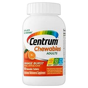 Centrum Adult (100 Count) Multivitamin / Multimineral Supplement Chewable Tablet, Vitamin D3