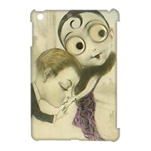 IPHONE Phone Case Of big eyes,Hard Case !Slim and Light weight and won't fade, Scratch proof and Water proof.Compatible with All Carriers Allows access to all buttons and ports. for iPad Mini 3D