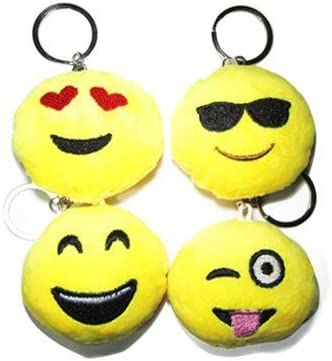 Amazon.com: Mini lindo Emoji sonriente emoticono cojín ...