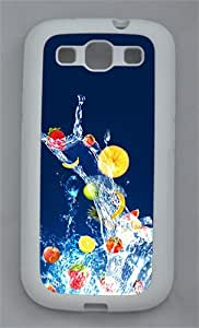 Fruits TPU Case Cover for Samsung Galaxy S3 I9300 White