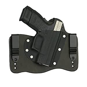 FoxX Holsters Springfield XD9, XD40 Subcompact In The Waist Band Hybrid Holster (Black)