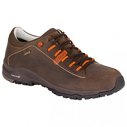AKU Nemes FG Low GTX Herren Trekking Schuh Brown Orange Gr. 41,5