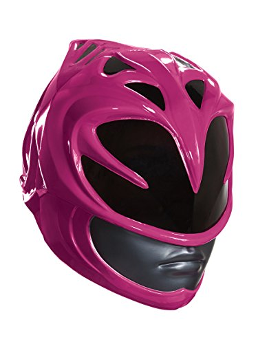 Disguise Women's Pink Ranger Movie Adult Helmet, One Size