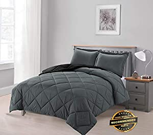Ellyly Premium New Home Down Alternative Hypoallergenic 3-Piece Reversible Comforter Set | Style CMFTR-120221767 | King Size