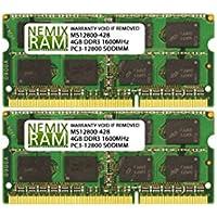 16GB (4 X 4GB) DDR3-1600MHz PC3-12800 SODIMM for Apple iMac 27 Late 2015 Intel Core i5 Quad-Core 3.2GHz MK472LL/A CTO (iMac17,1 Retina 5K Display)