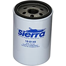 Sierra 18-8149 10 Micron, High Capacity Fuel Water Separating Filter for Side-By-Side Fuel Pumps