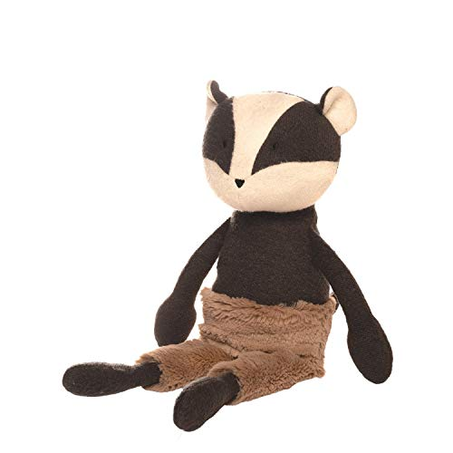 Manhattan Toy Forest Friends Beck Badger Stuffed Animal ()