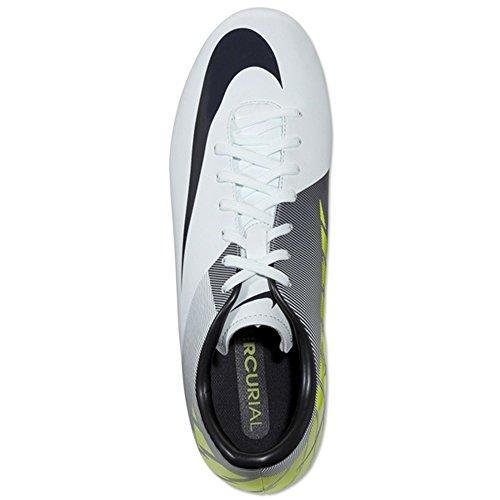 Nike Mercurial Victory Ii Fg Trace Blue / Volt